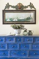 Hvordan man kan male Over farvede & lakerede møbler