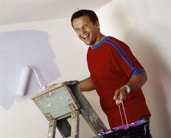 Korrekt metode til maleri vægge med en rulle