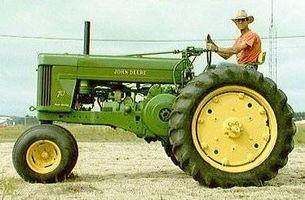 Hvor hen til genindføre gamle traktorer