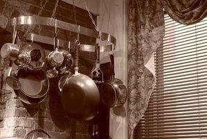 Retro køkkenskab ideer
