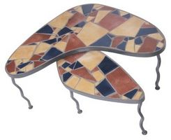 Mosaik flise Table Top ideer