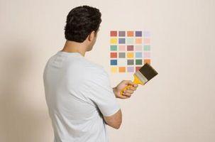 Hvordan at vælge en maling farve til et soveværelse
