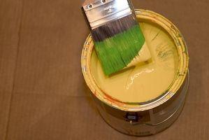 Olie baseret hus maling vs vand baseret hus maling