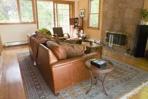 Sådan Accesorize lys brun lædermøbler