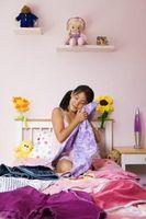 Hvordan man kan dekorere en lille pige soveværelse vægge