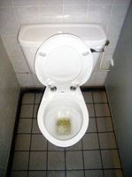 Sådan installeres en Toilet Bolt
