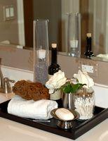 Sådan installeres en DIY badeværelse forfængelighed
