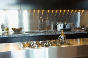 Hvordan man bruger Carrara-marmor til et køkkenbord