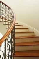 Ideer til en smedejern & træ trappe
