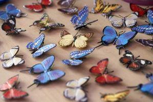 Ideer til en pige sommerfugl soveværelse