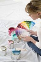 Øverste væg farver