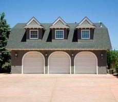 Hvordan til at designe et parcelhus Garage