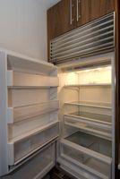 Sådan Reverse døren på Kenmore køleskab