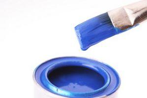 Ideer til en blå & hvid soveværelset