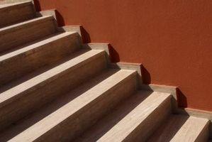 Hvordan at finde trappen kvadratfod