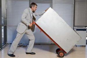 Hvordan man bruger udstyr til flytning & håndtering