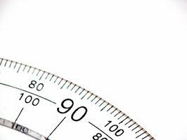 Hvordan man kan måle vinkler for Trim tømrerarbejde