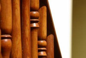 Hvordan man opbygger en trappe gelænder