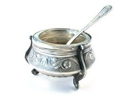 Sådan fastslås rent sølv eller plade