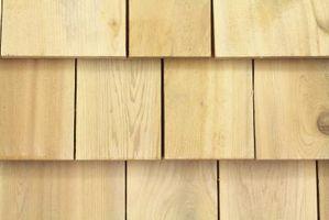 Sådan installeres Cedar rullesten sidespor