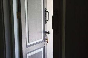 Oplysninger om indvendige døre