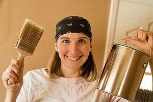 Hvordan du tilføjer farve accenter til et køkken