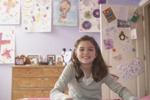 Køligt soveværelse idéer til et 10-13 år gammel