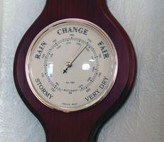 Udendørs ur & Barometer sæt