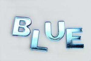 Blå soveværelse udsmykning idéer