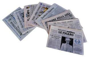 Sådan monteres en avis til skærm