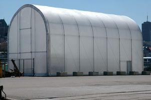 De Arch typer af aluminium sikringsanlæg bygninger