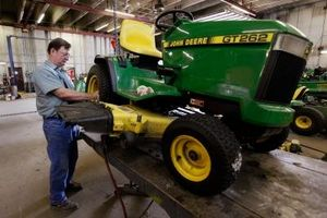 Sådan Sammenlign 360 graders værftet traktorer