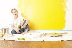 Hvordan man vælger den lige gul maling