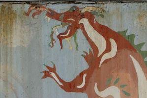 Hvordan til at dekorere dine vægge med drager
