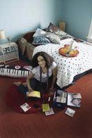 Soveværelse farver til væggene for teenagere