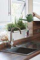 Har køkkenø vasken & køkkenvask skal Match?