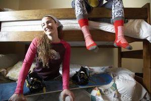 Hvordan man laver en Cool Teen soveværelse med en køjeseng