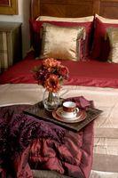 Hvad væg maling går med et kirsebær træ soveværelse sæt?