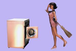 Sådan Stop vibrationer i en LG Tromm Front Load Washer