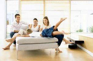 Hvordan til at designe en familie Lounge