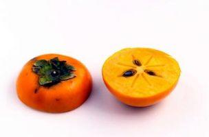 Harvest størrelsen for orientalsk Kakifrugter