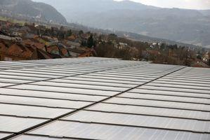 Sådan vedhæfte solpaneler