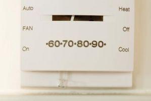 Ved hvilken temperatur fastsættes en Air condition til at forhindre mug?
