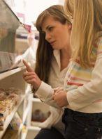 Hvordan til at lægge varer på hylderne i butikken