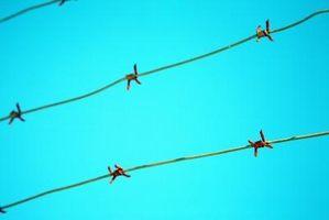 Sådan Fix modhager Wire hegn