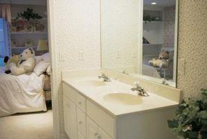 Hvordan man kan ændre farven på et badeværelse forfængelighed