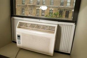 Sådan monteres en Kenmore Air Conditioner til et vindue