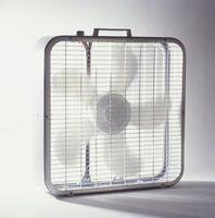 Hvordan man montere en Fan til et vindue