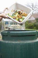 En ammoniak lugt fra kompost