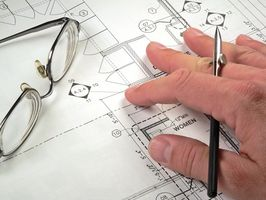 Hvordan til at designe en hjem blå Print
